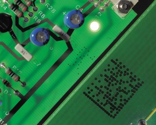 Circuit Board With 2D barcode