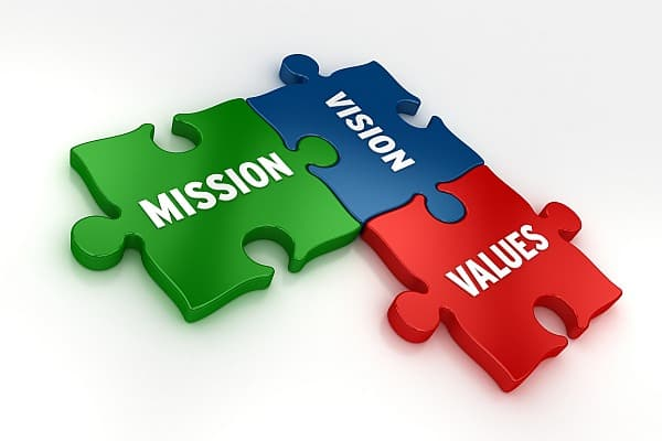 Image result for vision mission values