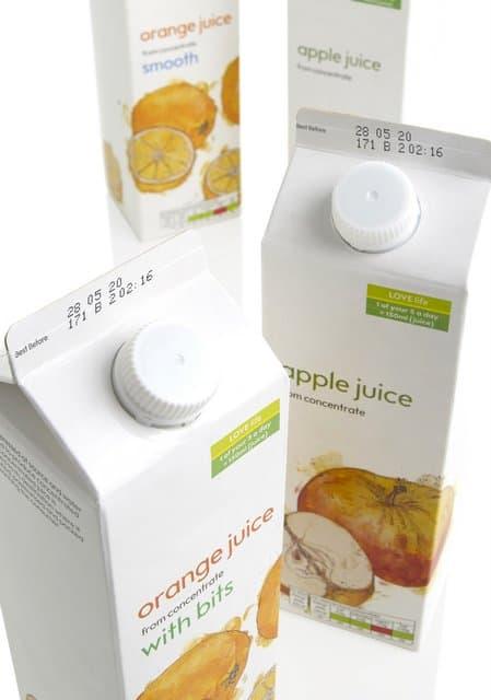 CIJ Juice carton
